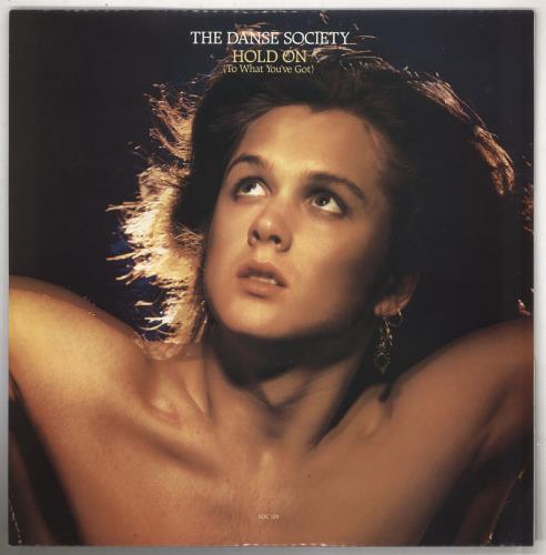 "The Danse Society Hold On 12"" vinyl single (12 inch record / Maxi-single) UK DSE12HO213157"