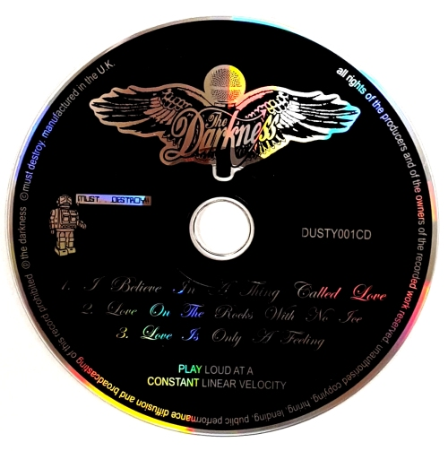 The Darkness I Believe In A Thing Called Love Ep Uk Cd Single Cd5