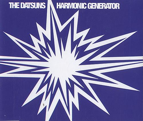 "The Datsuns Harmonic Generator [Part 2] CD single (CD5 / 5"") UK DSUC5HA482433"
