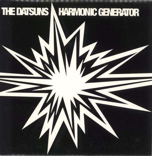"The Datsuns Harmonic Generator 7"" vinyl single (7 inch record) UK DSU07HA235167"