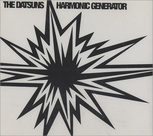 "The Datsuns Harmonic Generator CD single (CD5 / 5"") UK DSUC5HA461665"