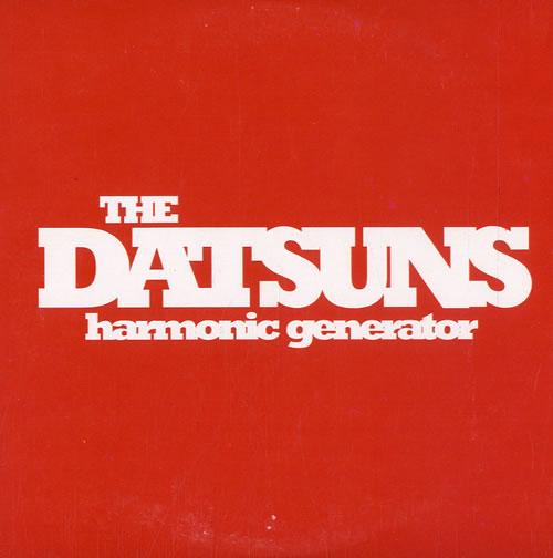 "The Datsuns Harmonic Generator CD single (CD5 / 5"") UK DSUC5HA580010"