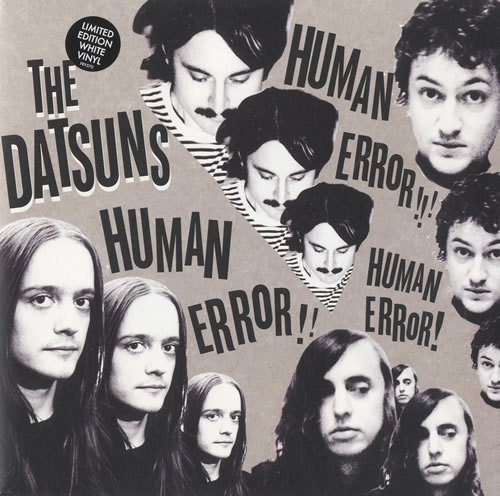 "The Datsuns Human Error 7"" vinyl single (7 inch record) UK DSU07HU448192"