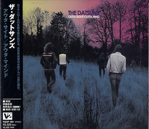 The Datsuns Outta Sight/Outta Mind CD album (CDLP) Japanese DSUCDOU277810