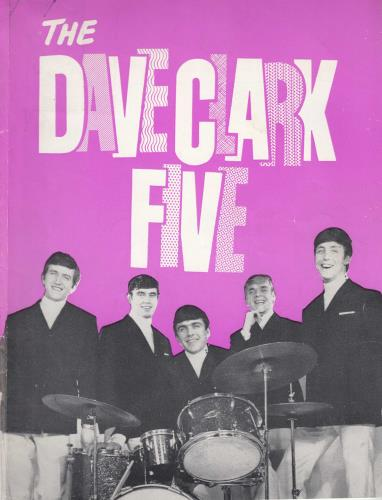 The Dave Clark Five The Dave Clark Five Show + Ticket Stubs tour programme UK DVCTRTH710196