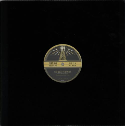 "The Dead Weather Blue Blood Blues 12"" vinyl single (12 inch record / Maxi-single) US WEV12BL601910"
