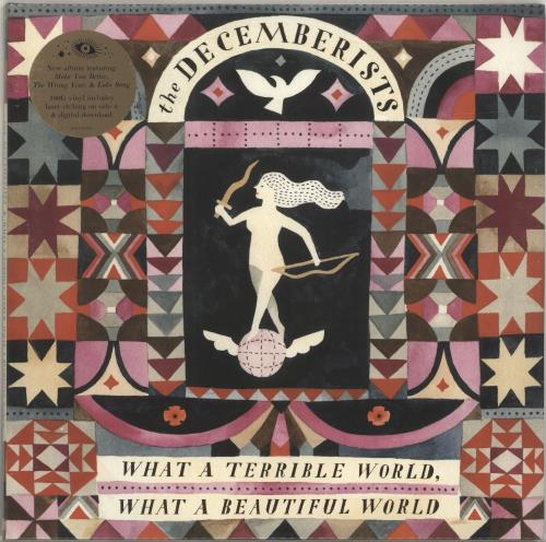 The Decemberists What A Terrible World, What A Beautiful World - 180gram Vinyl + Sealed 2-LP vinyl record set (Double Album) UK DEZ2LWH690876