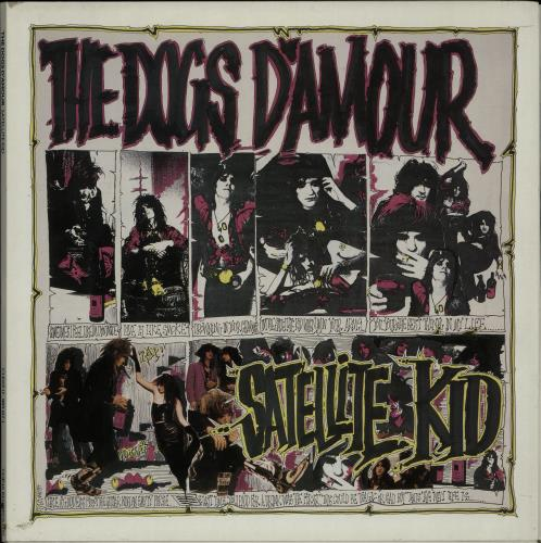 "The Dogs D'Amour Satellite Kid - Double Pack 12"" vinyl picture disc 12inch picture disc record UK DOG2PSA128557"
