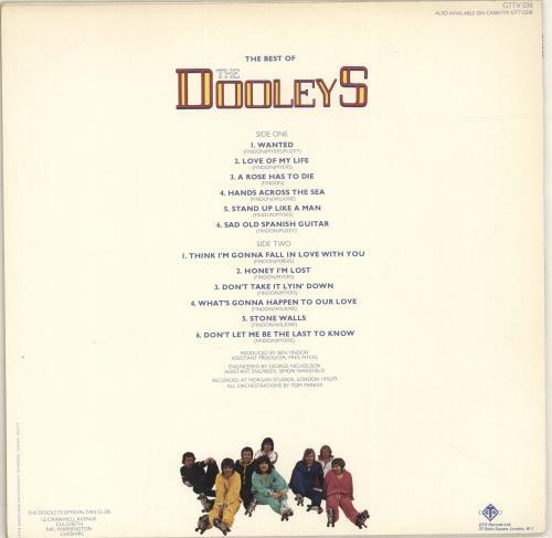 The Dooleys The Best Of The Dooleys vinyl LP album (LP record) UK D/YLPTH692107