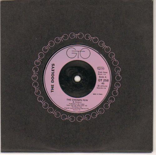 "The Dooleys The Chosen Few - Inj 7"" vinyl single (7 inch record) UK D/Y07TH642312"