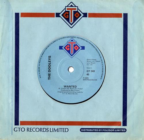 "The Dooleys Wanted 7"" vinyl single (7 inch record) UK D/Y07WA559261"
