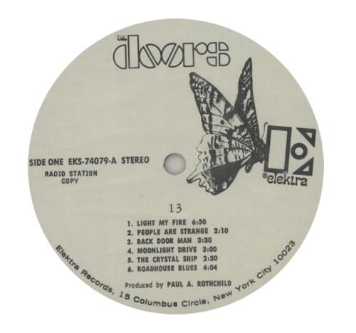 The Doors 13 - Thirteen vinyl LP album (LP record) US DORLPTH594816  sc 1 st  Eil & The Doors 13 - Thirteen US Promo vinyl LP album (LP record) (594816)