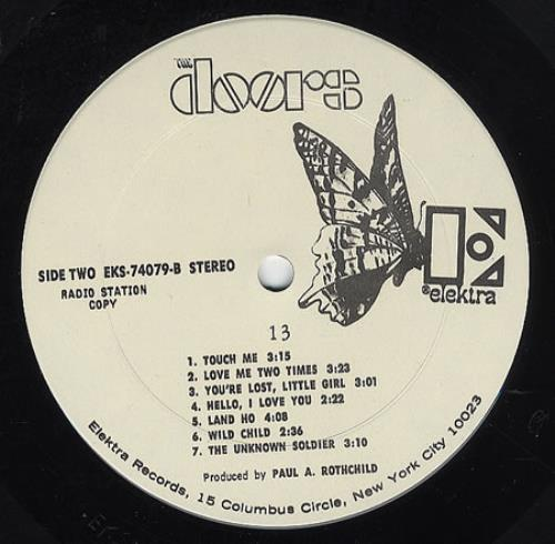 The Doors 13 Us Promo Vinyl Lp Album Lp Record 360467
