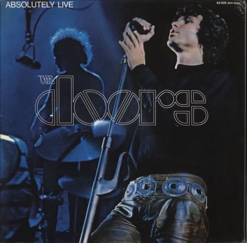 The Doors Absolutely Live - Red Label 2-LP vinyl record set (Double Album) German DOR2LAB519041