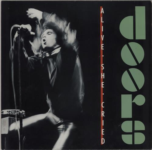 The Doors Alive She Cried vinyl LP album (LP record) German DORLPAL333491