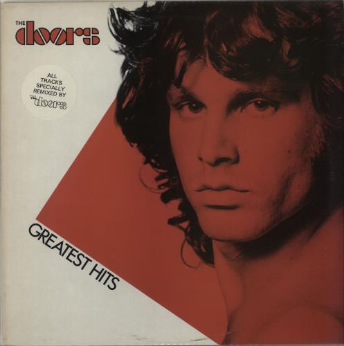 The Doors Greatest Hits vinyl LP album (LP record) UK DORLPGR515869