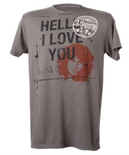 The Doors Hello I Love You Classic T-Shirt - Small t-shirt UK  sc 1 st  eil.com & The Doors Hello I Love You Classic T-Shirt - Small UK t-shirt (356108)