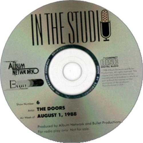 The Doors In The Studio CD album (CDLP) US DORCDIN193531