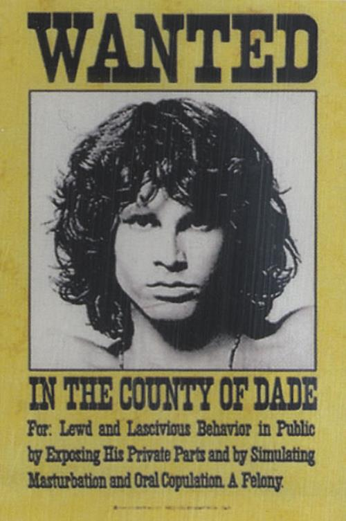 The Doors Jim Morrison Wanted Textile Poster memorabilia US DORMMJI435130  sc 1 st  Eil.com & The Doors Jim Morrison Wanted Textile Poster US memorabilia (435130 ...