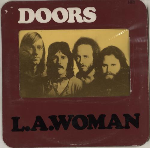 The Doors L.A. Woman - 1st - VG vinyl LP album (LP record) UK DORLPLA575231