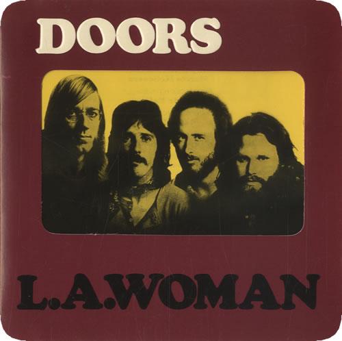 The Doors L.A. Woman CD album (CDLP) US DORCDLA13472