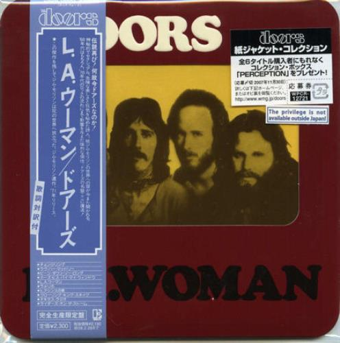 The Doors La Woman Japanese Cd Album Cdlp 408720