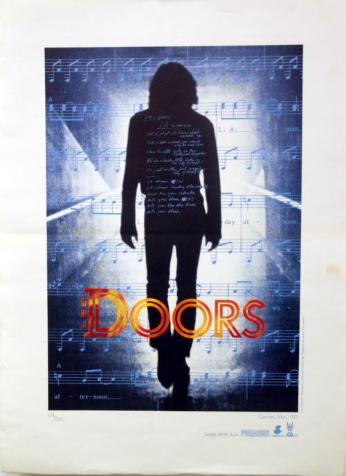 The Doors Les Doors - Numbered Print out of 500 only memorabilia French DORMMLE622885
