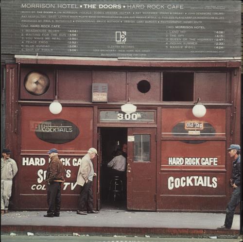 The Doors Morrison Hotel - Record Club Edition - Sealed vinyl LP album (LP record) US DORLPMO709343