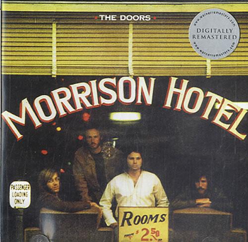 The Doors Morrison Hotel CD album (CDLP) Australian DORCDMO607232
