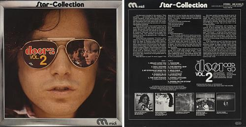 The Doors Star Collection Vol. 1 \u0026 2 2-LP vinyl record set (  sc 1 st  Eil & The Doors Star Collection Vol. 1 \u0026 2 German 2-LP vinyl record set ...