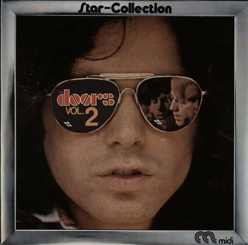 The Doors Star-Collection Volume 2 vinyl LP album (LP record) French DORLPST567362