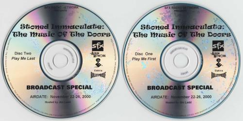 The Doors Stoned Immaculate - The Music Of the Doors 2 CD album set (Double CD) US DOR2CST173869