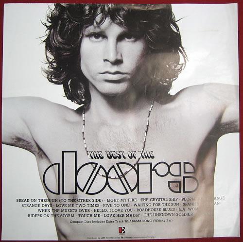 The Doors The Best Of The Doors poster UK DORPOTH368766  sc 1 st  Eil.com & The Doors The Best Of The Doors UK poster (368766)