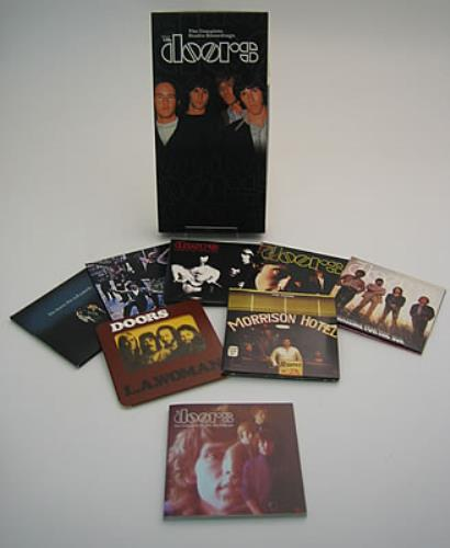 The Doors The Complete Studio Recording CD Album Box Set US DORDXTH370586