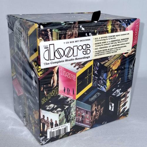 The Doors The Complete Studio Recordings Uk Cd Album Box