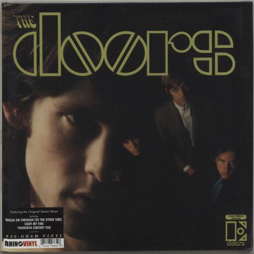 The Doors The Doors - 180gram Vinyl - Sealed vinyl LP album (LP record) UK DORLPTH495214