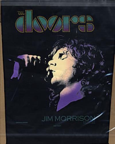 The Doors The Doors memorabilia UK DORMMTH282300 & The Doors The Doors UK memorabilia (282300) PATCH