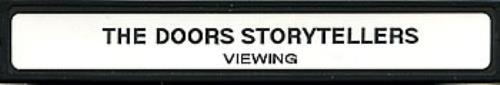 The Doors VH1 Storytellers - A Celebration video (VHS or PAL or NTSC) UK DORVIVH200278