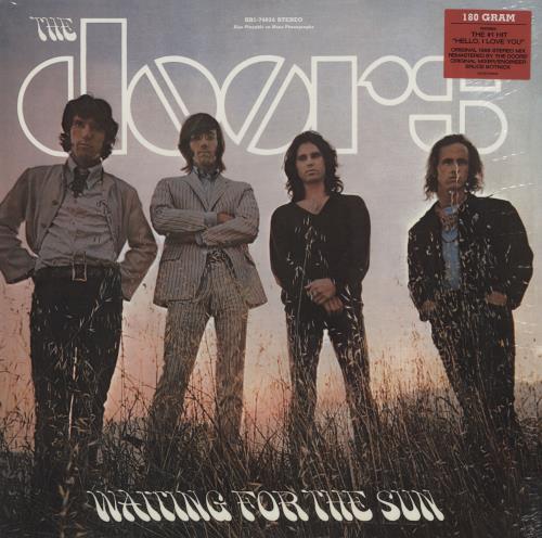 The Doors Waiting For The Sun - 180 Gram - Sealed vinyl LP album (LP record) UK DORLPWA759235