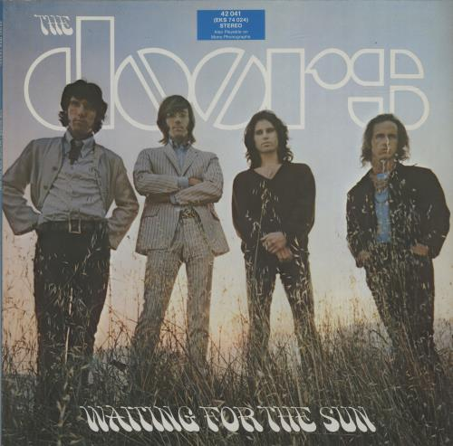 The Doors Waiting For The Sun - Mid Price vinyl LP album (LP record) German DORLPWA684474