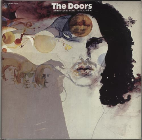 The Doors Weird Scenes Inside The Gold Mine - 180gm 2-LP vinyl record set (Double Album) UK DOR2LWE678137