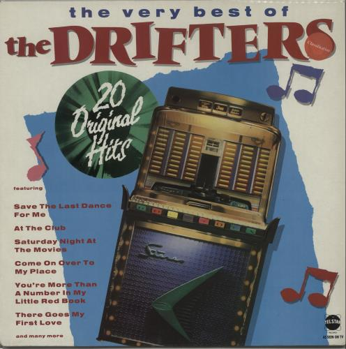 The Drifters The Very Best Of vinyl LP album (LP record) UK TD3LPTH425409