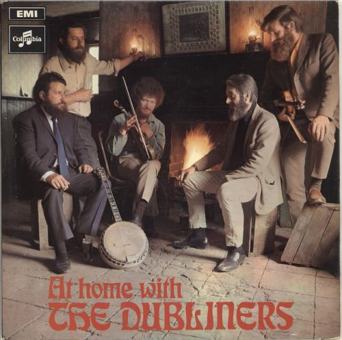 The Dubliners At Home With The Dubliners vinyl LP album (LP record) UK TIQLPAT712856