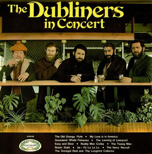 The Dubliners In Concert vinyl LP album (LP record) UK TIQLPIN457960