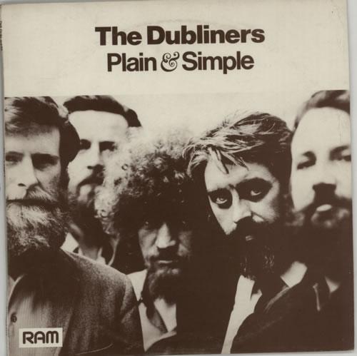 The Dubliners Plain & Simple vinyl LP album (LP record) Irish TIQLPPL617714