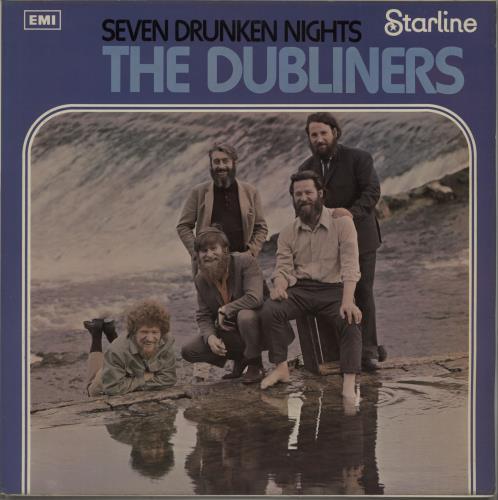The Dubliners Seven Drunken Nights vinyl LP album (LP record) UK TIQLPSE670562