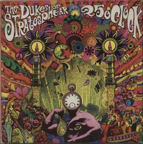 The Dukes Of Stratosphear 25 O'Clock - EX vinyl LP album (LP record) UK DUKLPOC622416