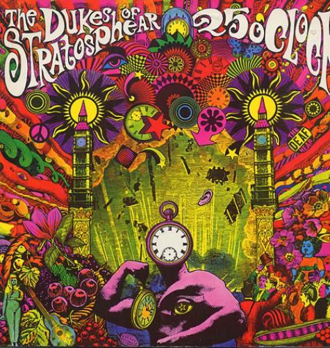 The Dukes Of Stratosphear 25 O'Clock vinyl LP album (LP record) French DUKLPOC346923