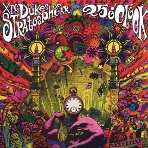 The Dukes Of Stratosphear 25 O'Clock vinyl LP album (LP record) UK DUKLPOC495022