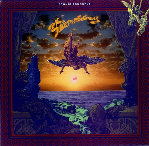 The Dukes Of Stratosphear Psonic Psunspot - Black Vinyl vinyl LP album (LP record) UK DUKLPPS106106